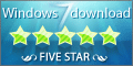 Windows 7 Download Award