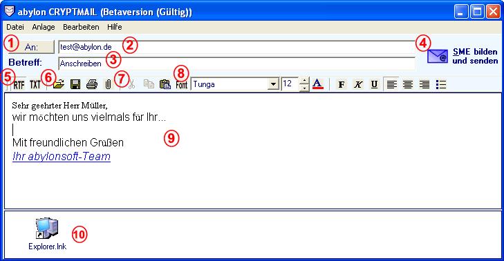 "abylon CRYPTMAIL - 邮件加密软件丨""反""斗限免"