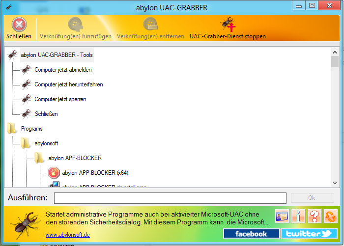 "UAC-GRABBER 2013 - UAC 控制管理软件丨""反""斗限免"