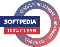 Softpedia Certificate: 100% Clean Award