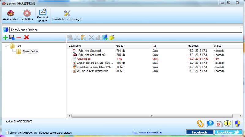 Multi-user encryption for files with abylon SHAREDDRIVE 18