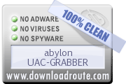 Downloadroute say this software is 100% clean